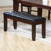 Primo International Redding Upholstered Bench (Set of 2)