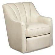 Palatial Furniture Fitzgerald Leather Swivel Armchair