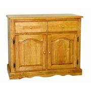 Sunset Trading Sunset Selections Server; Rich Honey Light Oak