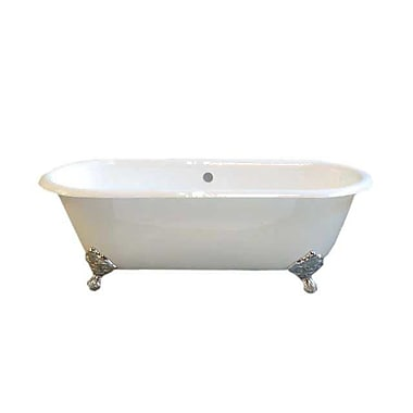 Strom Plumbing by Sign of the Crab Cloud 67'' x 31'' Soaking Bathtub; Chrome