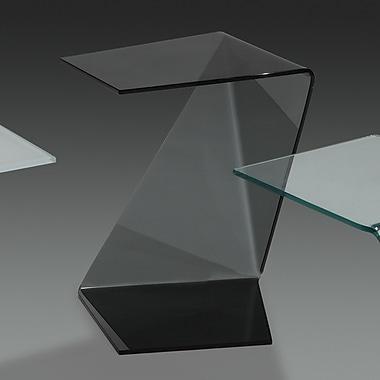 CREATIVE FURNITURE Origami End Table; Black