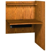 Ironwood Glacier Wood 48.13'' Study Carrel; Folkstone Grey