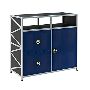 Powell Dune Buggy 2 Drawer 1 Door Accent Cabinet