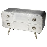 Butler Metalworks Midway Aviator 2 Drawer Accent Chest