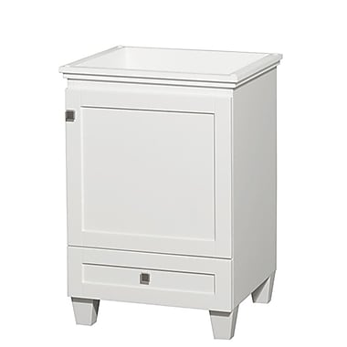Wyndham Collection Acclaim 24'' Single Bathroom Vanity Base; White