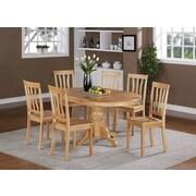 Wooden Importers Easton 7 Piece Dining Set; Oak