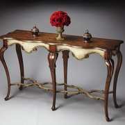 Butler Wentworth Console Table; Distressed Appaloosa