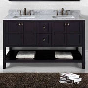Virtu USA Winterfell 59'' Bathroom Vanity Base; Espresso