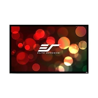 Elite Screens ezFrame Plus Series White Fixed Frame Projection Screen; 320'' Diagonal 4:3