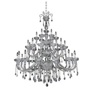 Allegri Clovio 34-Light Crystal Chandelier