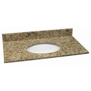 Design House 49'' Single Bathroom Vanity Top; Venetian Gold