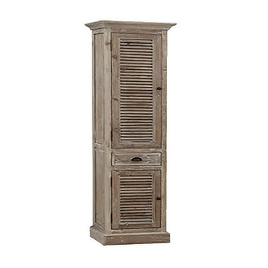 InFurniture Side Cabinet 19.6'' W x 78'' H Linen Tower