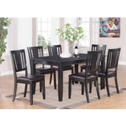 Wooden Importers Dudley 6 Piece Dining Set; Black
