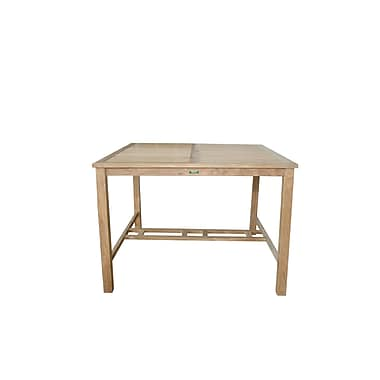 Anderson Teak Windsor Square Bar Table
