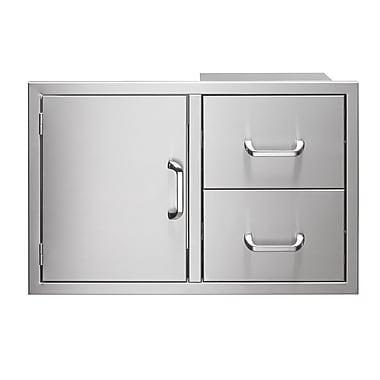 Vintage Appliances 21.13'' H 31.8'' W Combo
