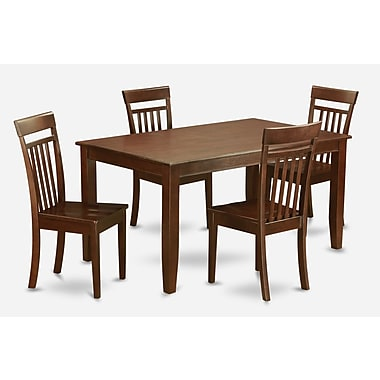 Wooden Importers Dudley 5 Piece Dining Set; Non-Upholstered Wood