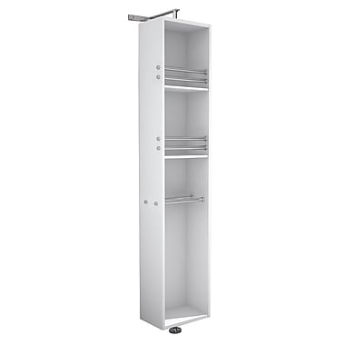 Wyndham Collection April 13.75'' W x 73'' H Wall Mounted Cabinet