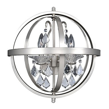 Allegri Catel 2-Light Candle Wall Light