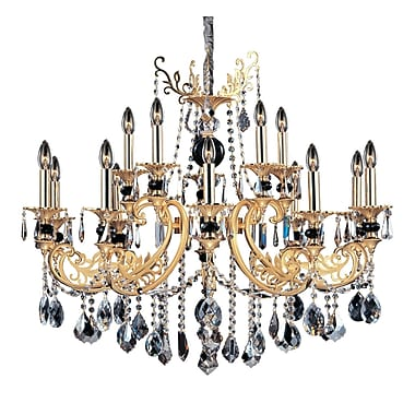Allegri Bellini 15-Light Crystal Chandelier