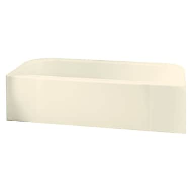 Sterling by Kohler Accord 60'' x 30'' Soaking Bathtub; High Gloss Biscuit