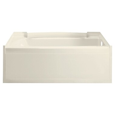 Sterling by Kohler Accord 36'' Soaking Bathtub; High Gloss Biscuit