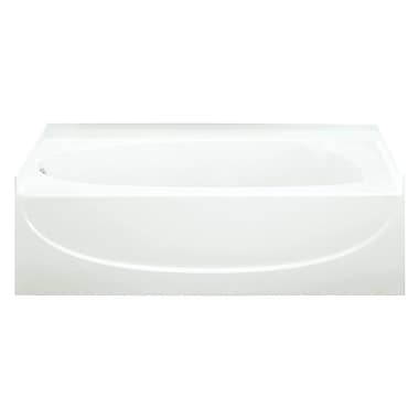 Sterling by Kohler Acclaim 60'' x 30'' Soaking Bathtub; White