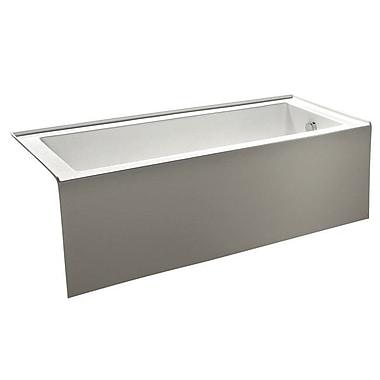 Kingston Brass Aqua Eden 60'' x 30.7'' Soaking Bathtub; Right Hand