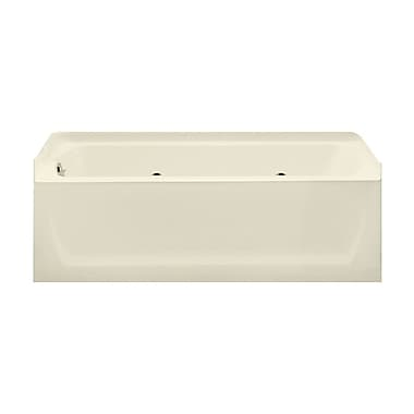 Sterling by Kohler Ensemble 60'' x 32'' Whirlpool Bathtub; Biscuit