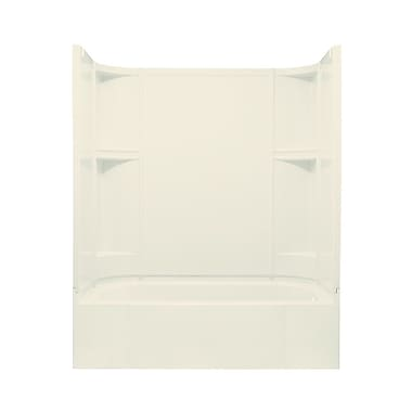Sterling by Kohler Accord Smooth Series AFD Bath/Shower Kit w/ Right Hand Drain; High Gloss Biscuit