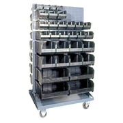 Quantum Conductive Mobile Double Sided Louvered Rack