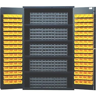 Quantum 72'' H x 48'' W x 24'' D Storage Cabinet; Ivory