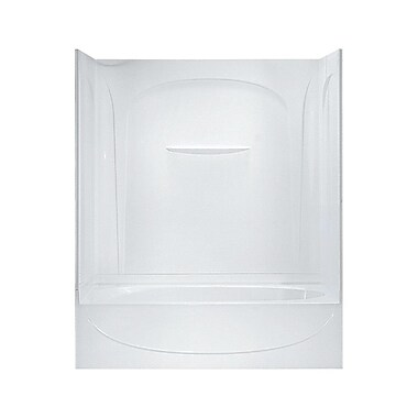 Sterling by Kohler Acclaim 72'' Bath/Shower Kit w/ Age-in-Place Backers and w/ Right Hand Drain