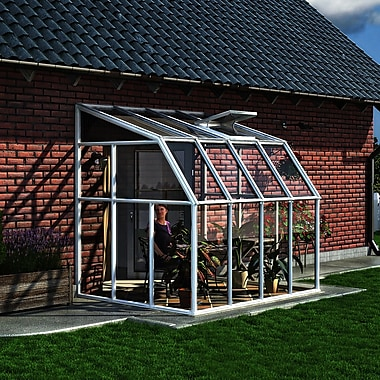 Rion Sun Room 8.1 Ft. W x 6.5 Ft. D Greenhouse