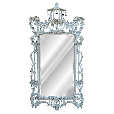 Hickory Manor House Campanello Mirror; Old World White