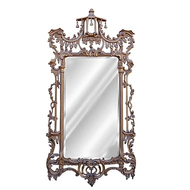 Hickory Manor House Campanello Mirror; Antique Gold