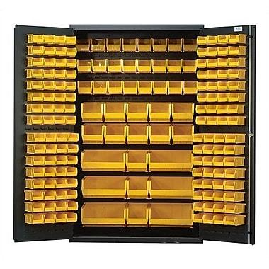 Quantum 78'' H x 48'' W x 24'' D Welded Storage Cabinet; Ivory