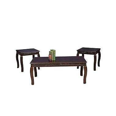 Serta Upholstery Coffee Table Set