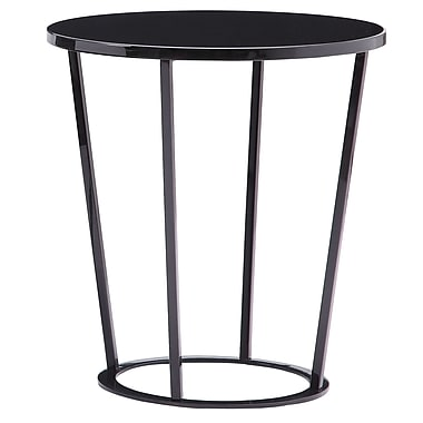 Bellini Modern Living Massa End Table; Dark Grey