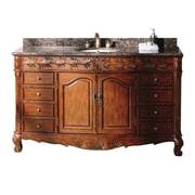 James Martin Furniture Classico 60'' Single Cherry Bathroom Vanity Set