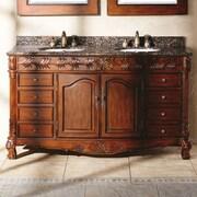 James Martin Furniture Classico 60'' Double Cherry Bathroom Vanity Set
