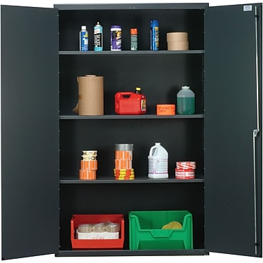 Quantum 78'' H x 48'' W x 24'' D Wide Welded Storage Cabinet