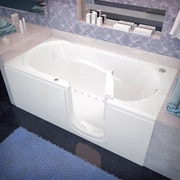 Therapeutic Tubs Stream 59.6'' x 30'' Walk In Air/Whirlpool; Right
