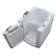 Therapeutic Tubs Durango 32'' x 37.2'' Air Jetted Bathtub; Left