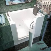 Therapeutic Tubs Catalina 38.7'' x 27'' Soaking Bathtub; Left