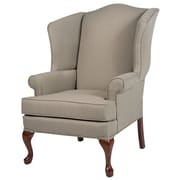 Comfort Pointe Erin Wingback Chair; Beige