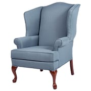Comfort Pointe Erin Wingback Chair; Blue
