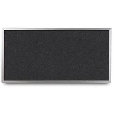 Everwhite Wide Aluminum Framed Cork Wall Mounted Bulletin Board; 4' H x 8' W