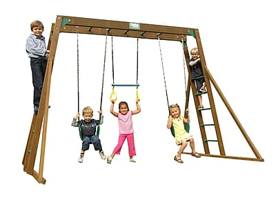 Creative Playthings Classic Top Ladder Swing Set
