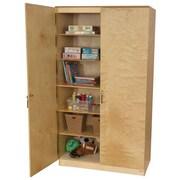 Wood Designs Teacher's 1 Compartment Classroom Cabinet w/ Doors