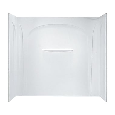 Sterling by Kohler Acclaim 3-Piece Wall Set; White